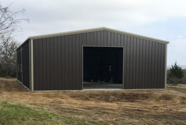 engineered metal building