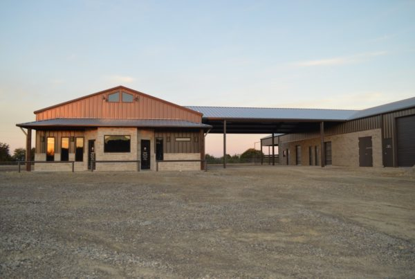 metal building supplier for commercial builders