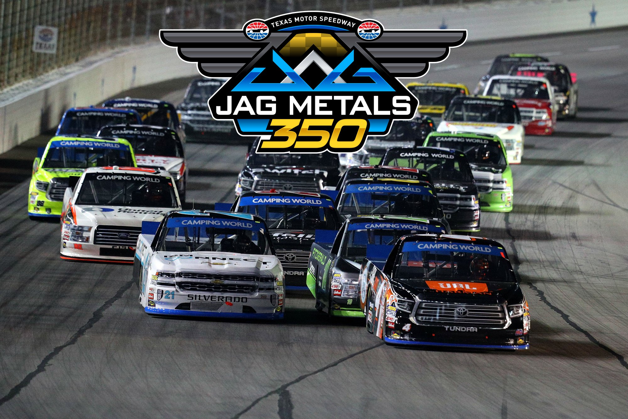 JAG METALS SIGNS MULTI-YEAR RENEWAL AS ENTITLEMENT SPONSOR OF ANNUAL FALL NASCAR TRUCK SERIES PLAYOFF RACE