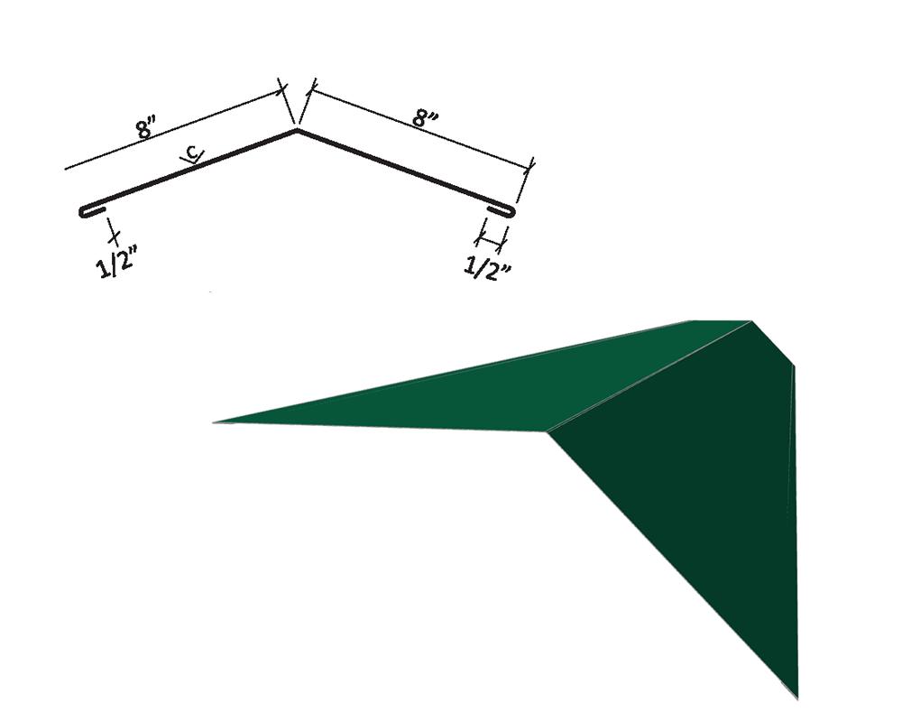 flat ridge cap