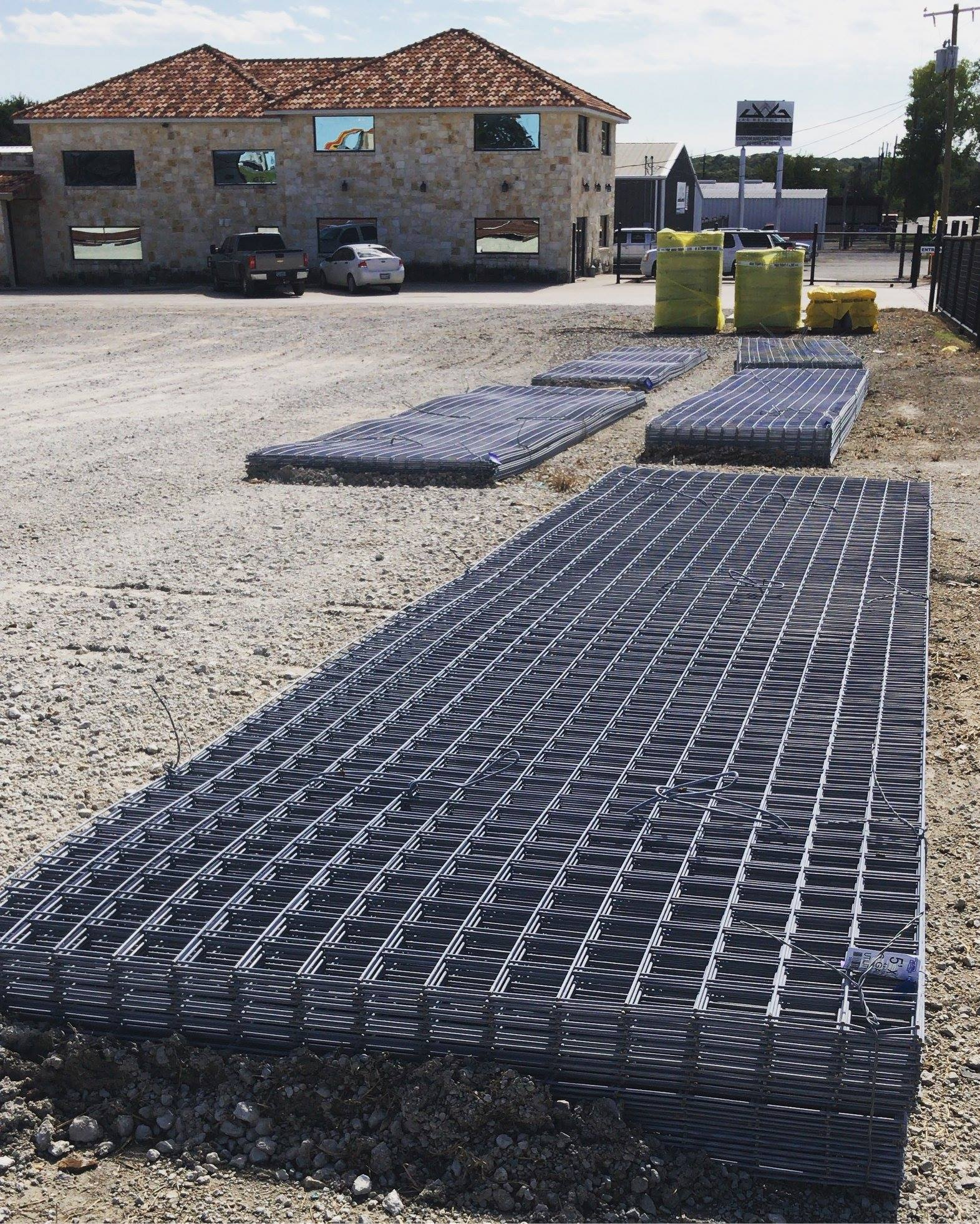 fencing wire panels