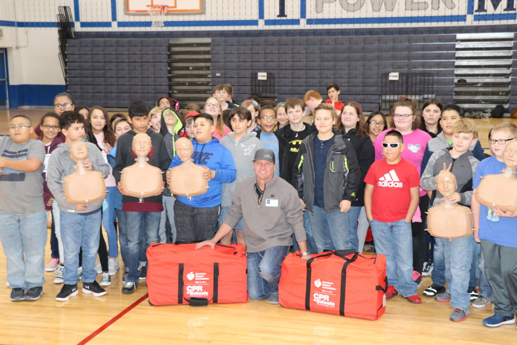 jag metals donates cpr kits to weatherford isd