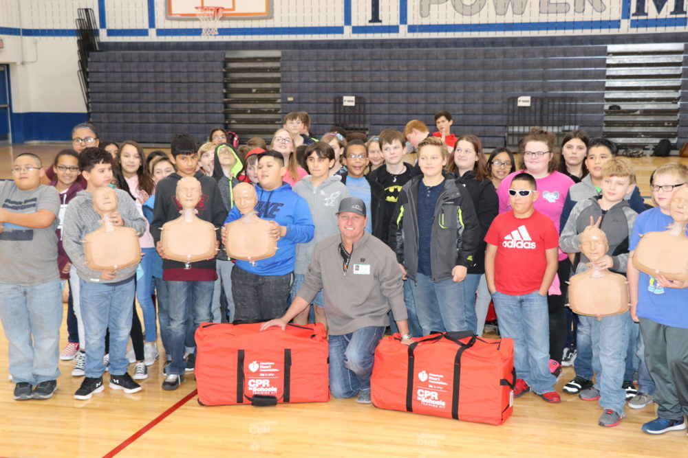 JAG Metals LLC Donates CPR Kits to Weatherford Schools
