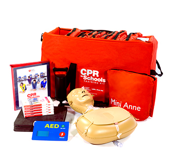 jag metals donates CPR kits to weatherford school