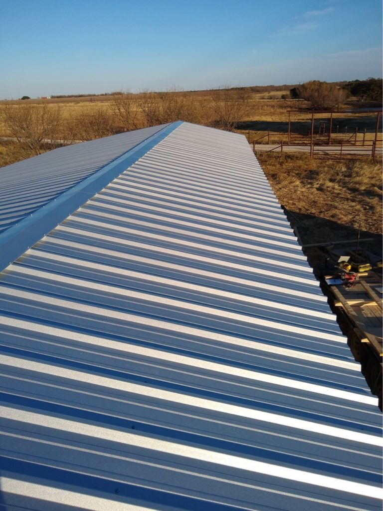 galvalume roof weatherford tx