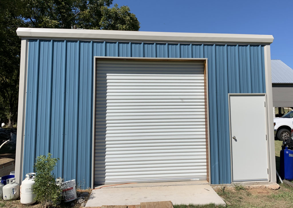 hawaiian blue metal building jag metals